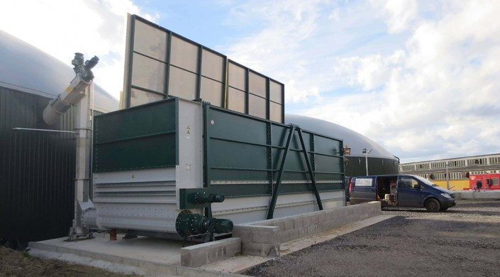 Biogas Fütterung